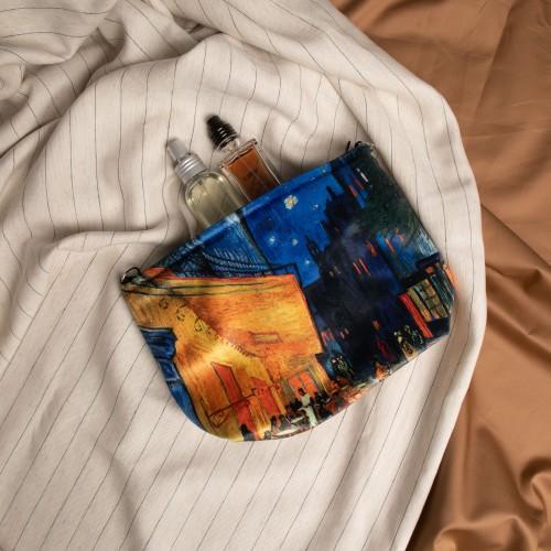 "Cosmetic Bag Vincent van Gogh ""Cafe Terrace at Night"" CB10222"