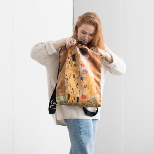 """Backpack Gustav Klimt """"The Kiss"""" BPS83100"""