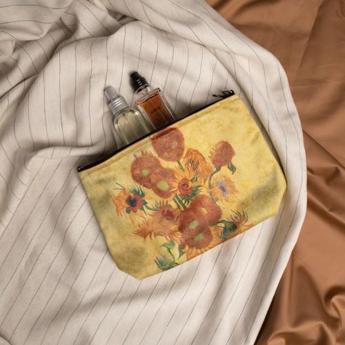 "Cosmetic Bag Vincent van Gogh ""Sunflowers"" CB02235"
