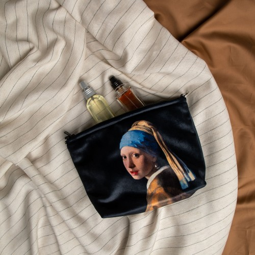 """Cosmetic Bag Johannes Vermeer """"Girl with a Pearl Earring"""" CB02402"""